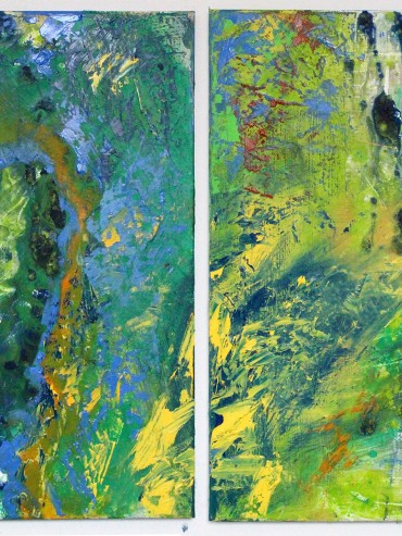 Sunny Waters (Diptych)